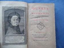 MATEMATICA-FISICA-ASTRONOMIA-POLO NORD-OEUVRES DE MAUPERTUIS-LYON 1768-TOMI 4