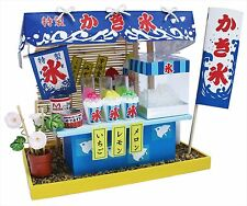 Billy Handmade Miniature Dollhouse Kit Shaved Ice Food Cart 8423