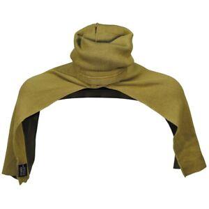 DUTCH ARMY SNOOD KHAKI SCARF HEAD COVER WINTER WARM TUBE MILITARY HOOD