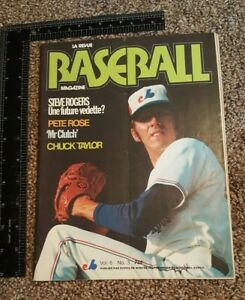 1974 Montreal Expos Program Steve Rogers Volume 6 #3