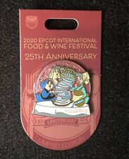 Disney Epcot Food And Wine 25th Anniversary Sleeping Beauty Fairies Pin Le 3000