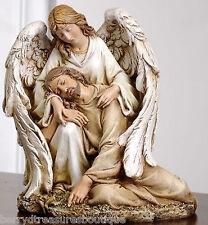 """7""""Angel Comforting Fallen Jesus Agony in the Garden Statue Joseph's Studio 46687"""