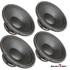 4-Pack Eminence 15 inch Pro Subwoofer Bocina 500Watt Woofer Replacement Speaker