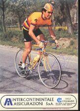 LEONARDO NATALE cyclisme ciclismo vélo signée COLNAGO