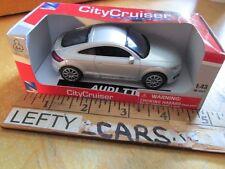 SCALE 1/43 SILVER AUDI TT CAR