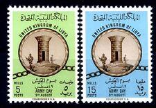 LIBIA INDIPENDENTE 1961 -  GIORNATA ARMATA LIBICA SERIE  NUOVA **