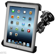 RAM Suction Cup Mount, Samsung Galaxy Tab 10.1 & Others With Case/Sleeve