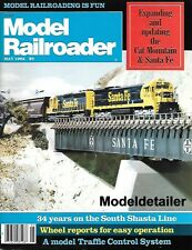 Model Railroader May 84 Santa Fe San Juan D&RGW Shasta Covered Hopper Weathering