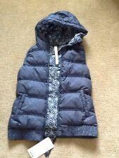 Lululemon NWT Chilly Chill Puffy Vest Size 6 Inkwell Reversible Sashiko 800 fill