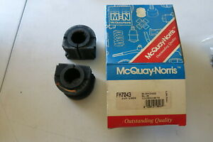 NOS MCQUAY-NORRIS SWAY BAR BUSHING FA7043 FITS BUICK CHEV OLDS PONTIAC