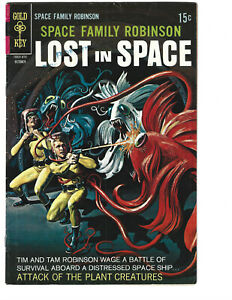 Space Family Robinson Lost in Space #30 (10/68) VG/F (5.0) Great Silver Age!