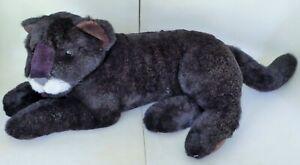 FAO SCHWARZ BLACK PANTHER 24 IN RETIRED PLUSH STUFFED ANIMAL