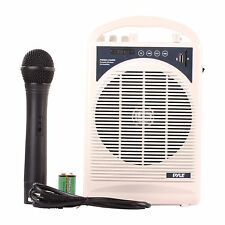 Portable PA Speaker Amplifier & Microphone System w/ Blutooth