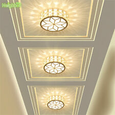 5W led aisle lamp living room crystal ceiling lamp corridor lamp porch spotlight