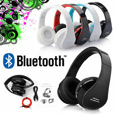 WIRELESS BLUETOOTH KOPFHÖRER STEREO HEADSET HIFI HEADPHONES FREISPRECHANLAGE