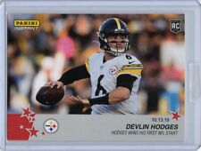 2019 Panini Instant NFL Football #74 Devlin Hodges Rookie Card Steelers PR: 182