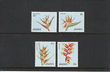Jamaica 1986 Christmas Flowers set UM (MNH)