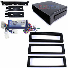 Radio Replacement Interface & Single-DIN Dash Mounting Kit for Nissan/Infinity