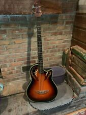 Ovation CC 274 Celebrity Deluxe. Specs:Deep bowl w/rounded cutawayacoustic-ele
