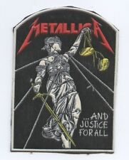Metallica ..And Justice For All synthetic 3D patch early 80's RARE