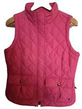 Joules Pink Gilet Size 12