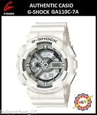 Casio G-Shock GA110C-7A Ana-Digi Watch - Matte White