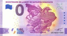83 SAINT-RAPHAËL Bicentenaire Napoléon, 2021, Billet Euro Souvenir
