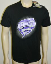 BNWT - Hobart Hurricanes Men's Graphic T-Shirt BBL Tee Cricket Australia - Small