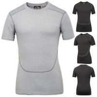1 X Men's Short Sleeve Quick-Drying Running Jogging Sports Yoga T-Shirt Tops New