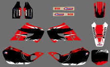 TEAM DECALS GRAPHICS For HONDA CR125 1998 1999 CR250 1997 1998 1999 D03