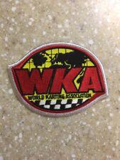 World Karting Association WKA Logo Emblem Patch