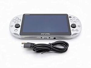 SONY PS Vita PCH-2000 ZA11 Silver Console Wi-Fi model F/S Used