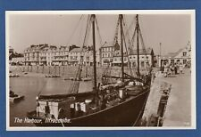 More details for harbour ilfracombe sailing ship rp  pc unused photo precision  x915