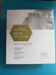 HL Holy Land Alpha Beta & Retinol Rejuvenation Kit - 3 Products