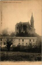 CPA  Basse-Indre (Loire-Inférieure) -Vue de l'église,prise de la route..(223106)