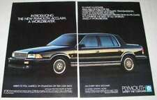 1989 Plymouth Acclaim Car Ad - A Worldbeater