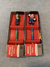 Mario & Luigi Retractable Stylus Nintendo DS Systems New in box Super Mario Bros