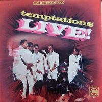 TEMPTATIONS LIVE - THE TEMPTATIONS - GORDY 1966 MOTOWN RECORD CORP. VINYL LP