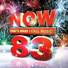 NOW 83 THAT'S WHAT I CALL MUSIC Various Hits Tracks Original Audio CD New Sealed