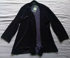 Chums Amber Women's Navy Velvet Cardigan Size 16 New With Tags
