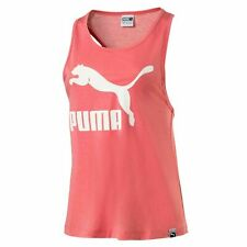 Puma Classic Logo Womens Sleeveless Tank Gym Vest Fitness Top 574990 23 A72B