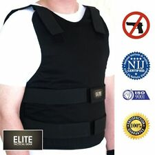 Anti Stab Knife Bullet Proof vest defense KEVLAR Body Armor Level IIIA 3A M L