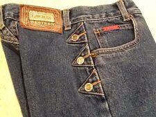 Girls LAWMAN Western Style Blue Jeans 22x27