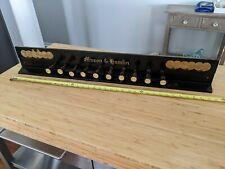Mason & Hamlin Pump Organ Panel
