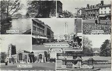 LUTON Multiview George Street Wardown Park Church Bedfordshire PC 1964