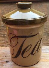 Vintage TG Green Brown Sugar Jar/Retro/Storage/1970's/70's/Browning