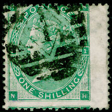 SG90, 1 S verde, buono usato. CAT £ 250. NH