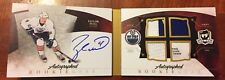 10-11 The Cup Taylor Hall Boomlet 4/25 Jersey Number RC Auto