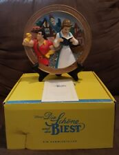 "Disney Beauty and the Beast 3D Plate Limited Edition (5000) ""Lost in Her Dreams"