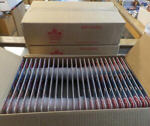 1994 Canada Games Pog Milkcaps 48 packs per box NHL total 3 cases 48 = 144 pks